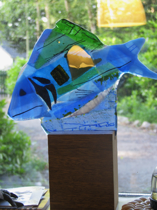 Blue Fish. Sold.