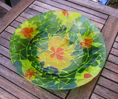 Flower Birdbath 40 cm
